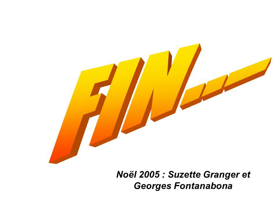 Noël 2005 : Suzette Granger et Georges Fontanabona