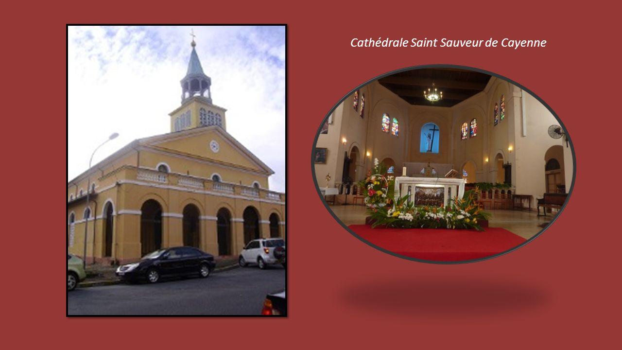 Cathédrale Saint Sauveur de Cayenne