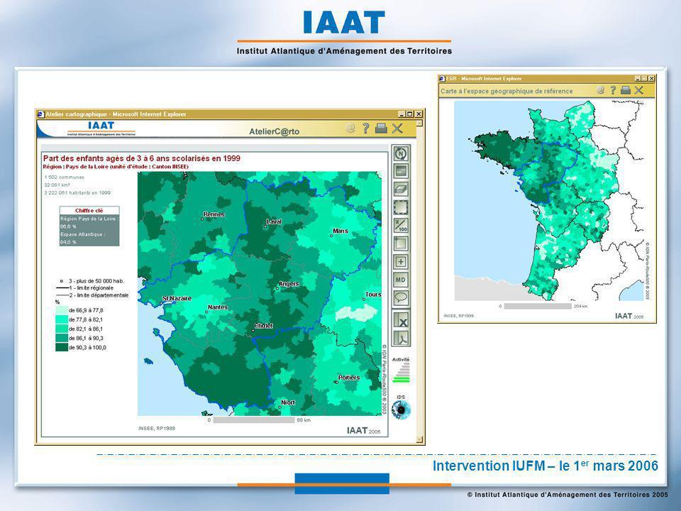 Conclusion La réalisation d'une carte nécessite des moyens importants: - des outils logiciels : SIG + outils de dessin - des données : géographiques et statistiques - des compétences : gestion de données, cartographie, etc.