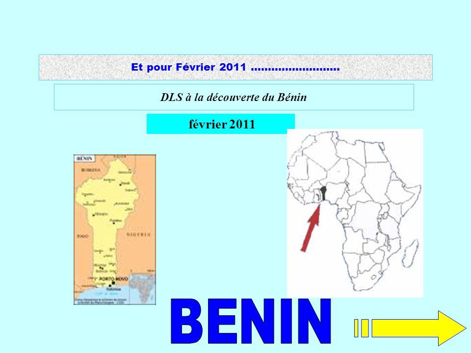 1 DLS à la découverte du Bénin février 2011 Et pour Février 2011 ……………………..