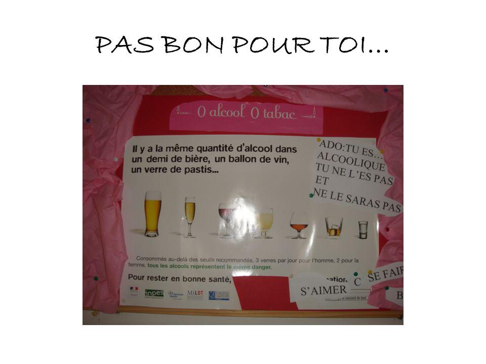 PAS BON POUR TOI…
