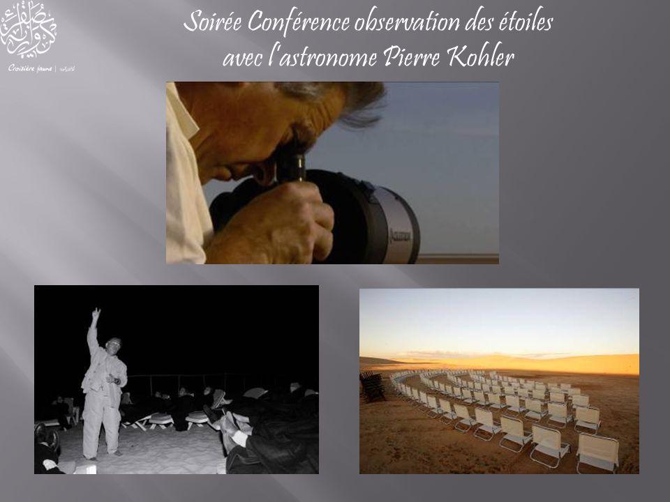 Soirée Conférence observation des étoiles avec l'astronome Pierre Kohler