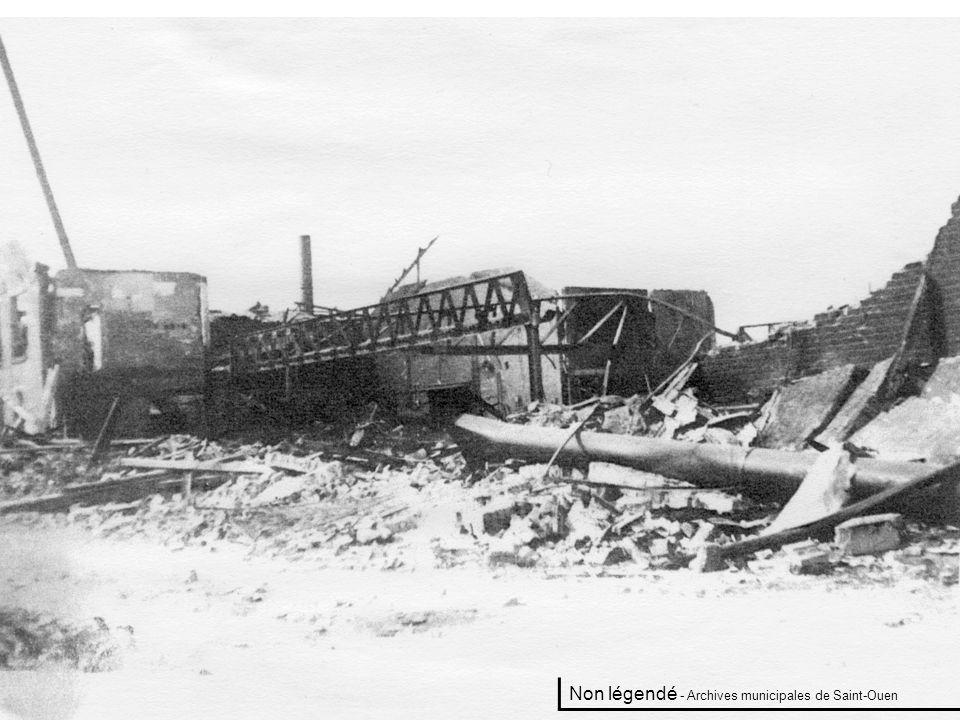 Tabac rue des Rosiers. 1944 - Archives municipales de Saint-Ouen