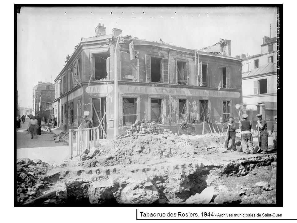 Mécanique électricité Paban 27 rue Lieutadès. 1944 - Archives municipales de Saint-Ouen