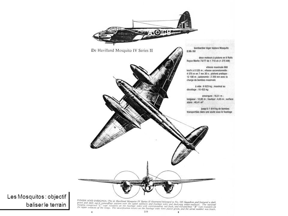 Les bombardiers Lancasters