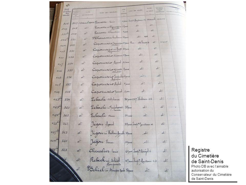 Archives Municipales de Saint-Denis
