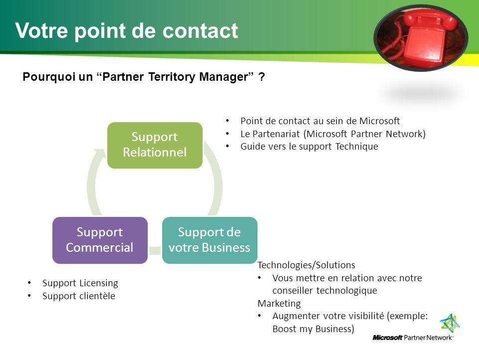 Pourquoi un Partner Territory Manager .