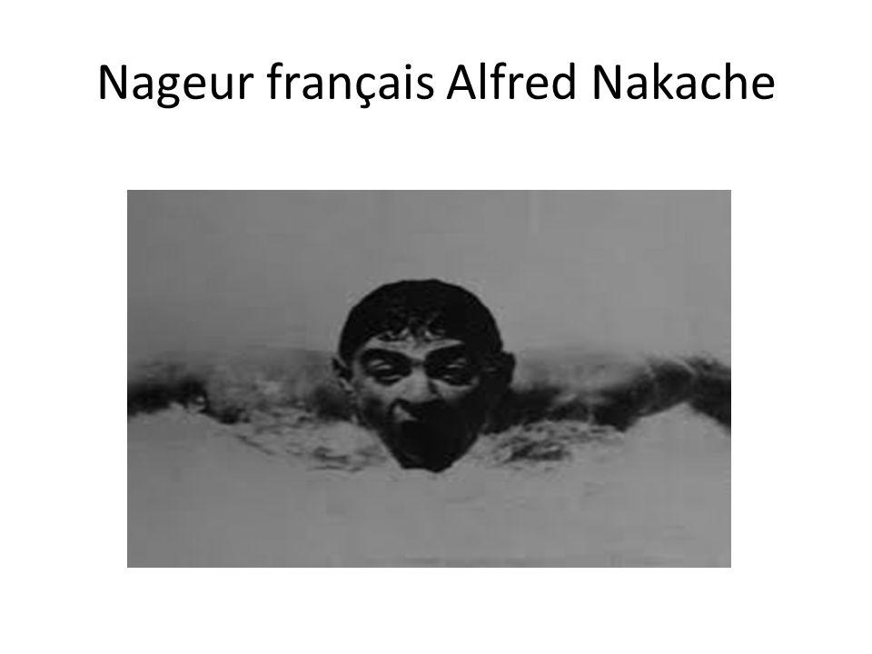 Nageur français Alfred Nakache