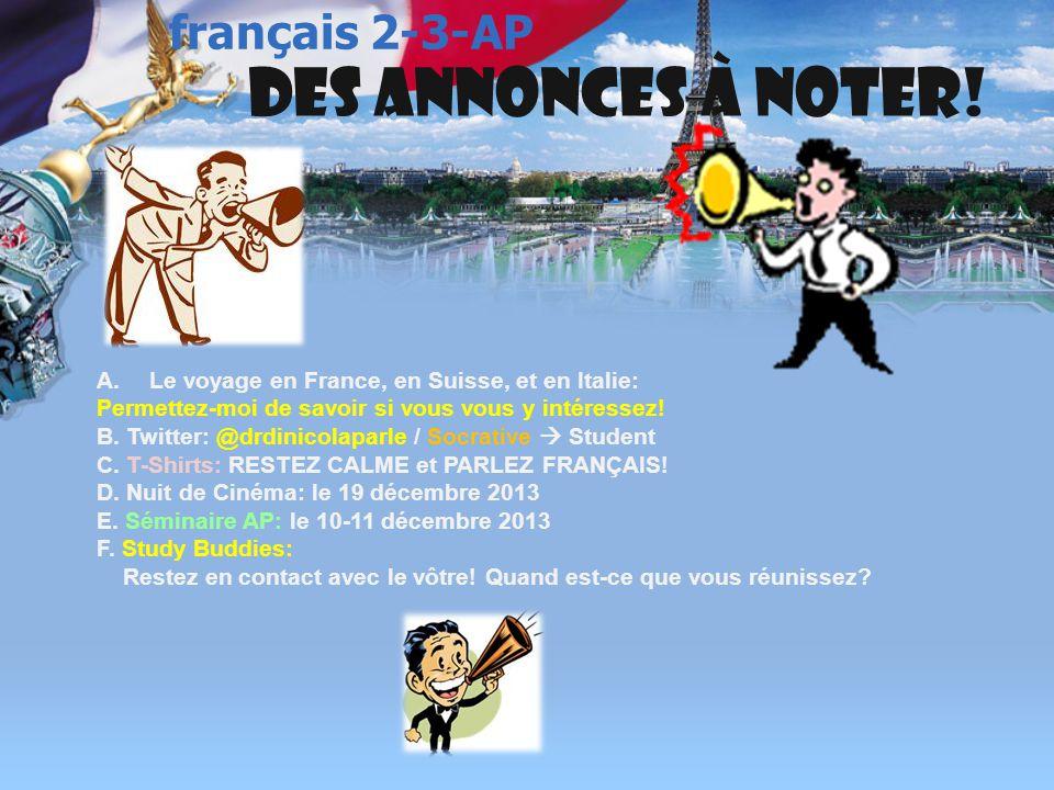 français 3 le 2-3 décembre 2013