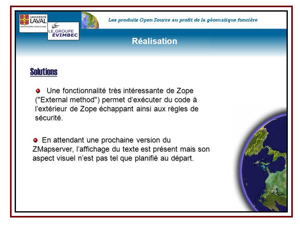 Une fonctionnalité très intéressante de Zope (