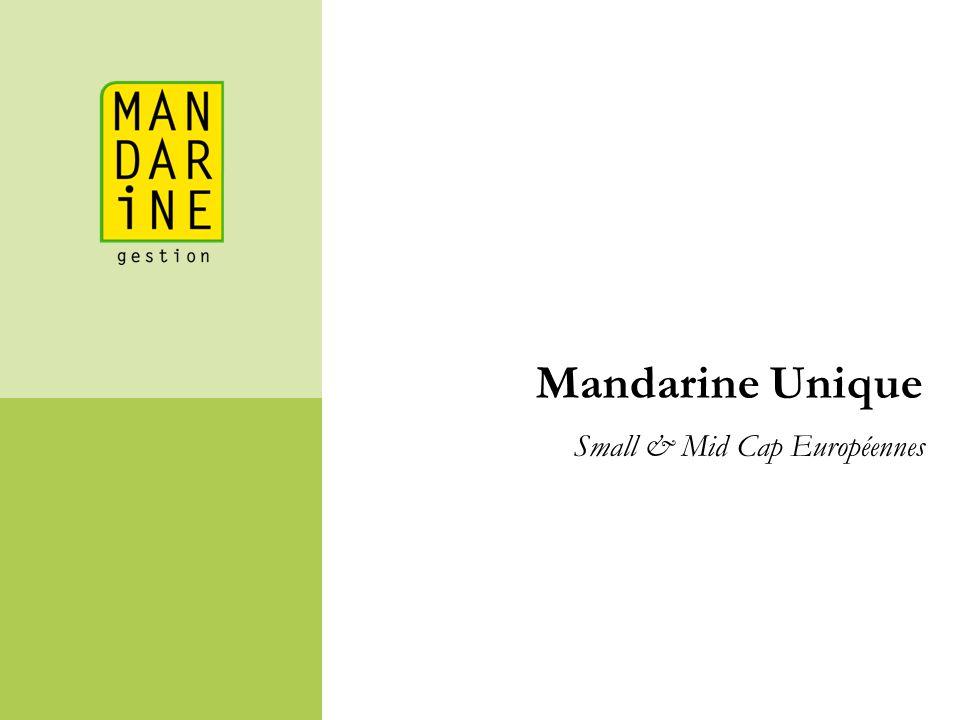 Mandarine Unique Small & Mid Cap Européennes