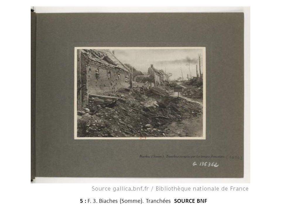F. 4. Canons allemands capturés dans la Somme; SOURCE BNF