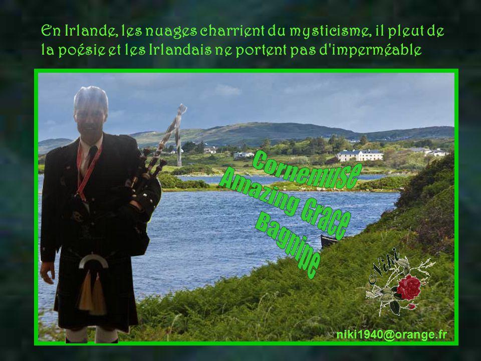 Le 17 mars, est un jour de liesse, on fête la St Patrick's day patron des Irlandais, la bière Guiness coule à flot, les gens s'habillent en vert coule