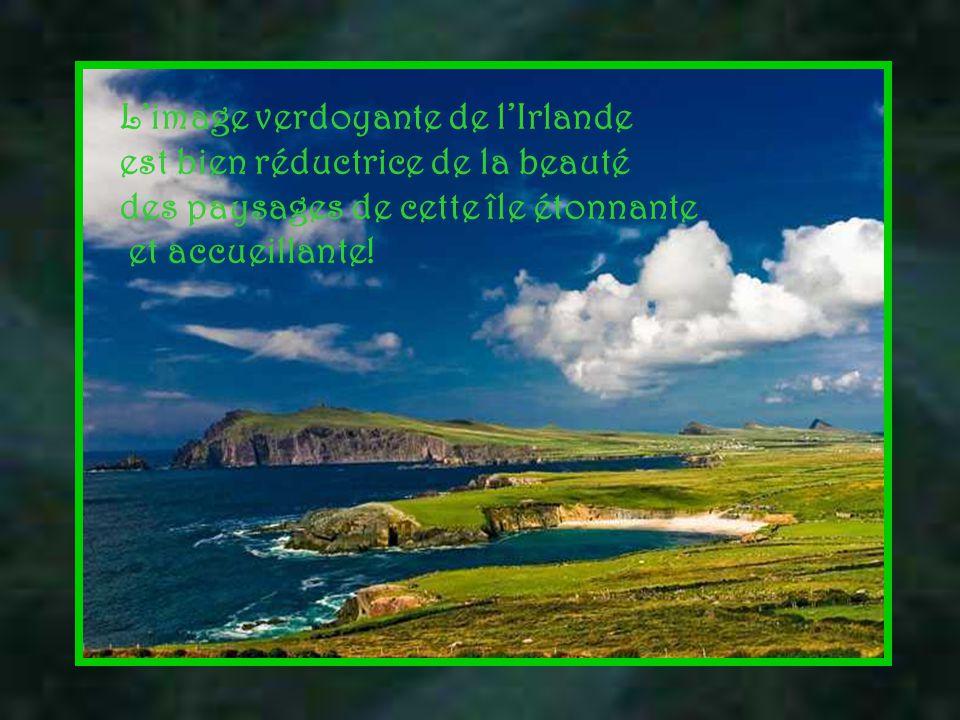 L'Irlande est une île située à l'ouest de la Grande-Bretagne.
