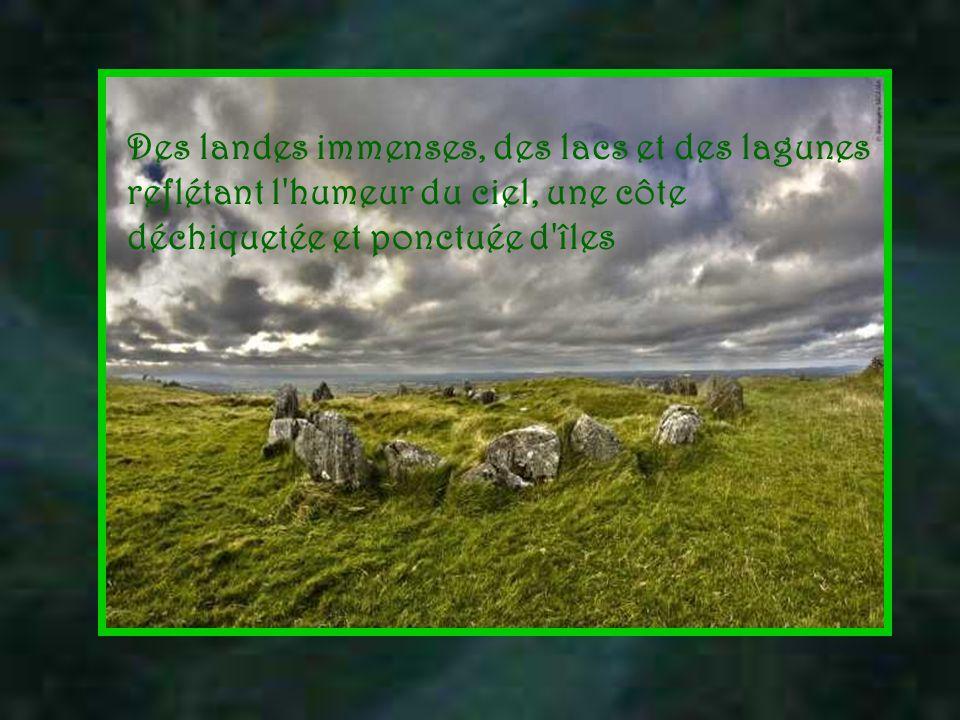 Des centaines de millions d'années ont laissé des empreintes sur le sol irlandais