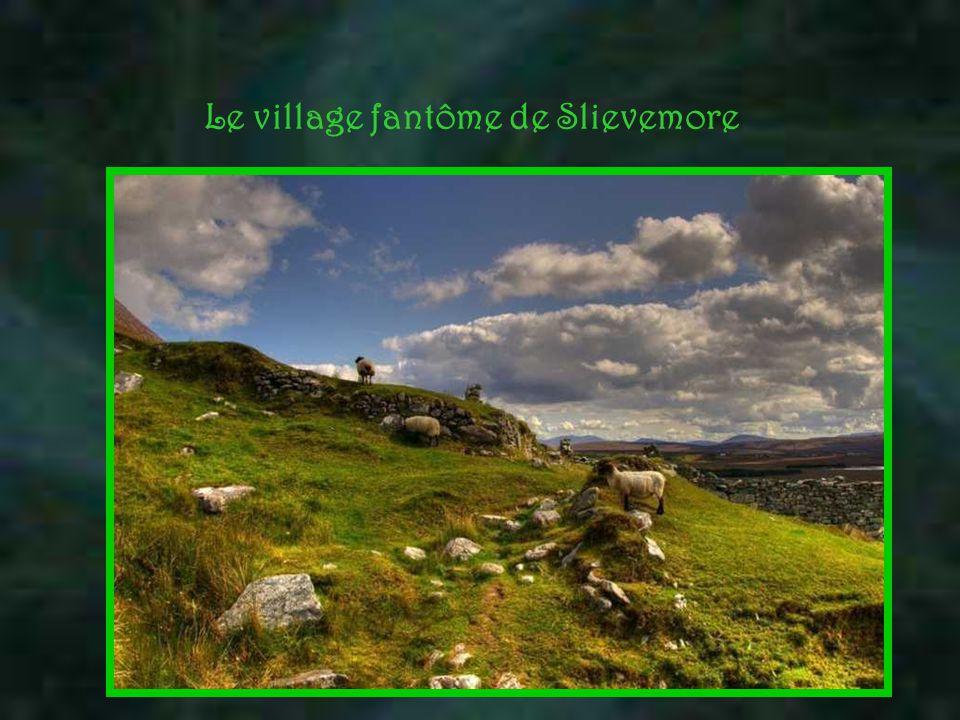 Le village fantôme de Slievemore