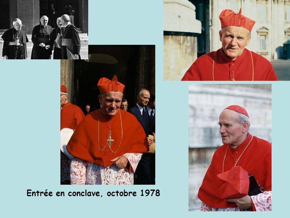 Entrée en conclave, octobre 1978