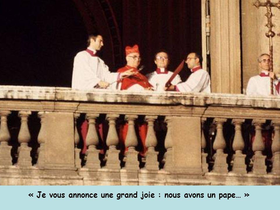 « Je vous annonce une grand joie : nous avons un pape… »
