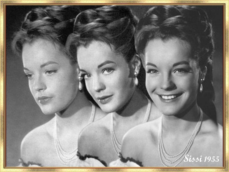 Sissi 1955 C'est dans la série des Sissi que Romy devient célèbre.
