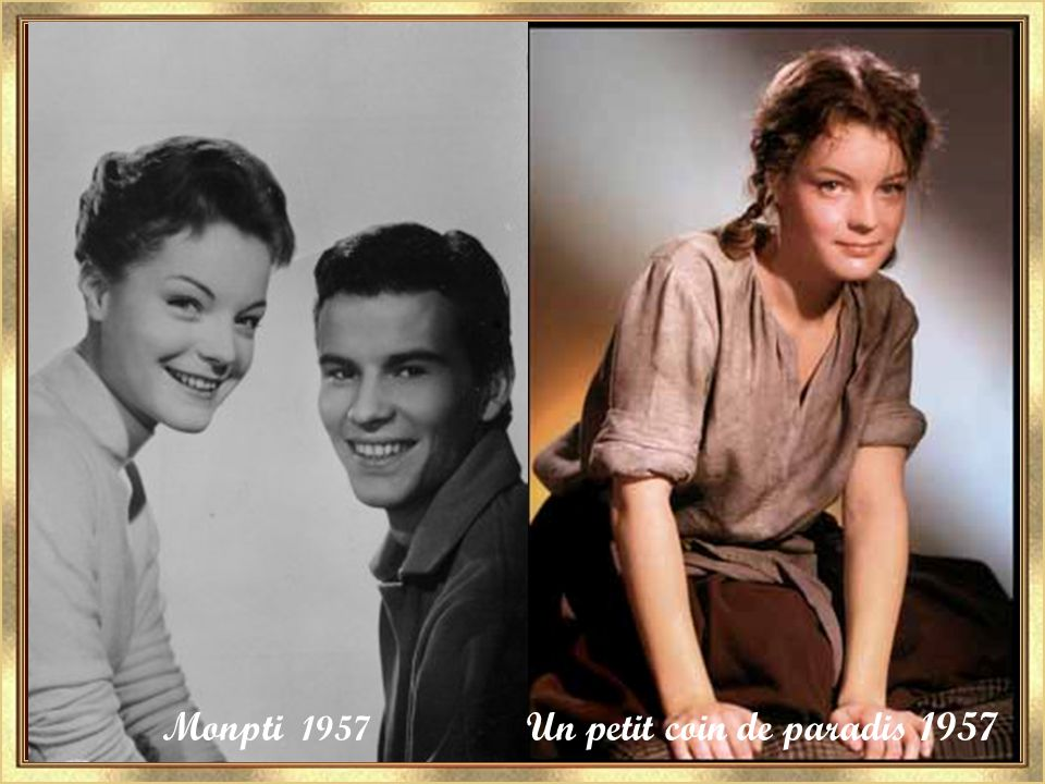 Mam'zelle cricri 1956 Kitty 1956 1er Amour 1955 Les lilas blancs 1953