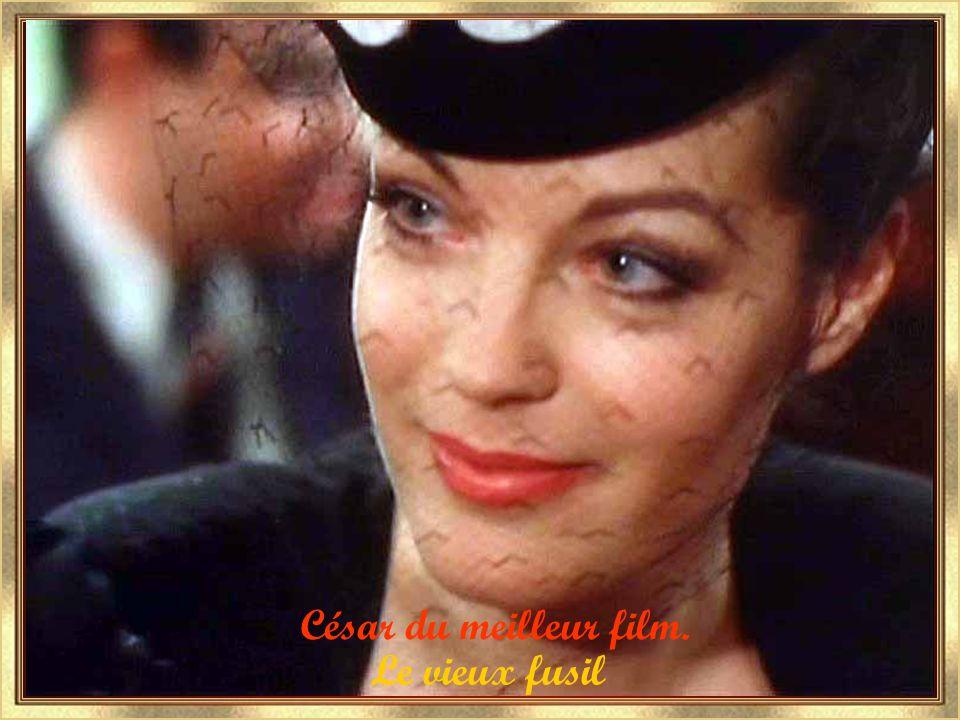 Le vieux fusil en 1975 Le film préféré des français.