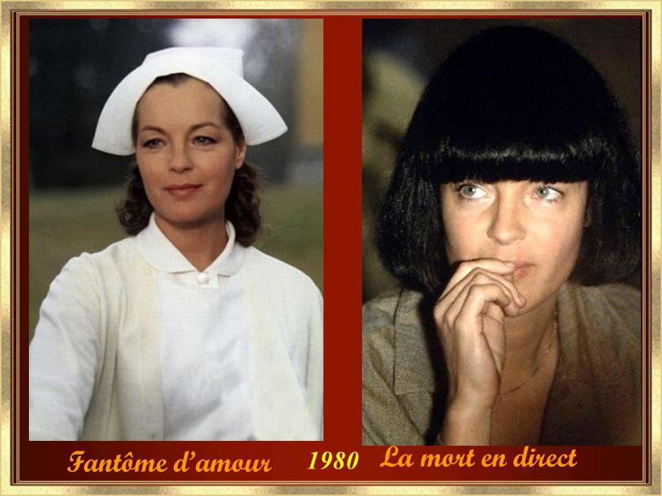 Clair de femme en 1979 Nomination au césar de la meilleure actrice.