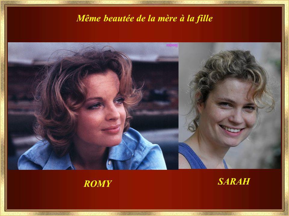 Sarah, Née le 21 juillet 1977 avec Romy Ses Enfants...qu'elle aimait par dessus tout