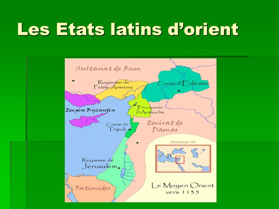 Les Etats latins d'orient
