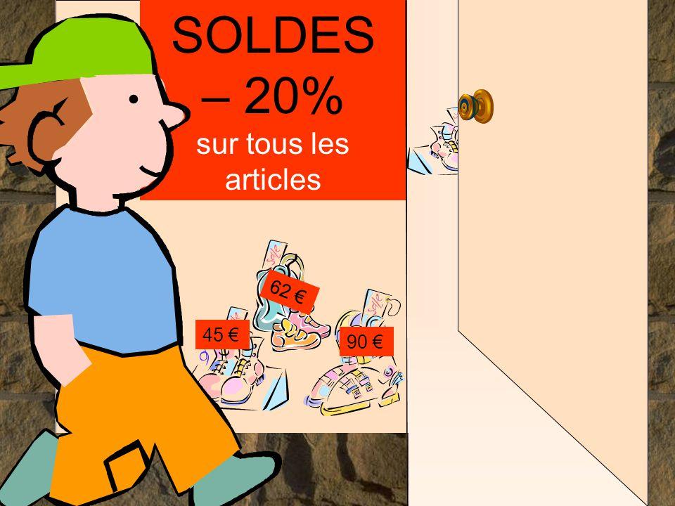 Les mathématiques autrement SOLDES – 20% sur tous les articles 45 € 90 € 62 €..