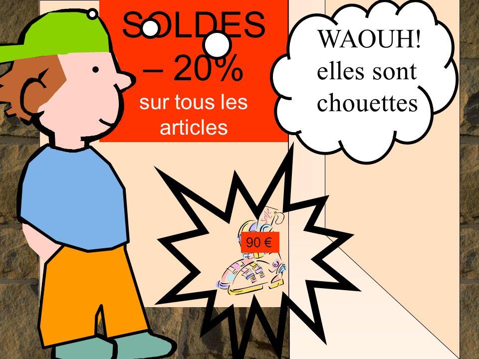 Les mathématiques autrement SOLDES – 20% sur tous les articles 90 €.... mais elles sont à 90 €
