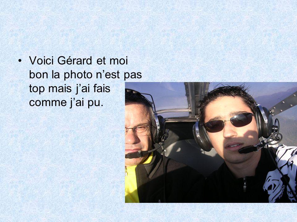 •Voici Gérard et moi bon la photo n'est pas top mais j'ai fais comme j'ai pu.