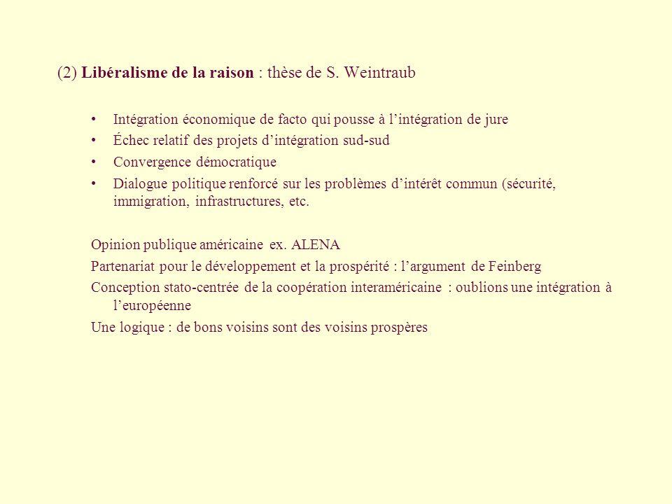 (2) Libéralisme de la raison : thèse de S.