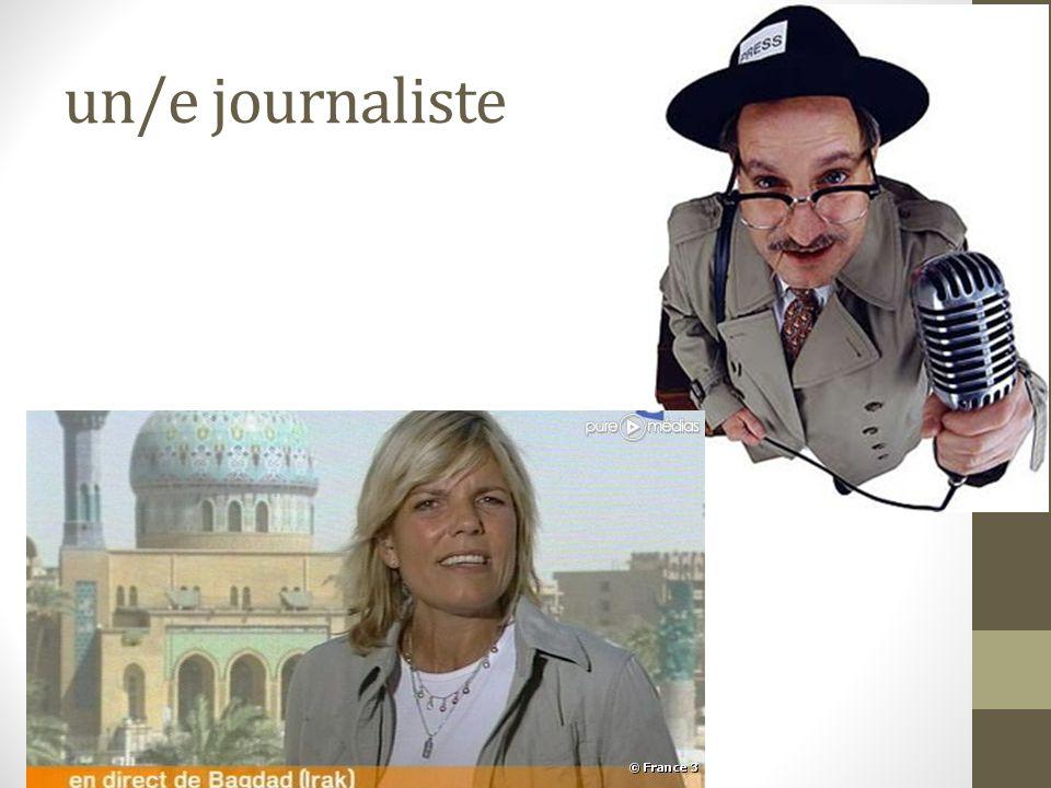 un/e journaliste