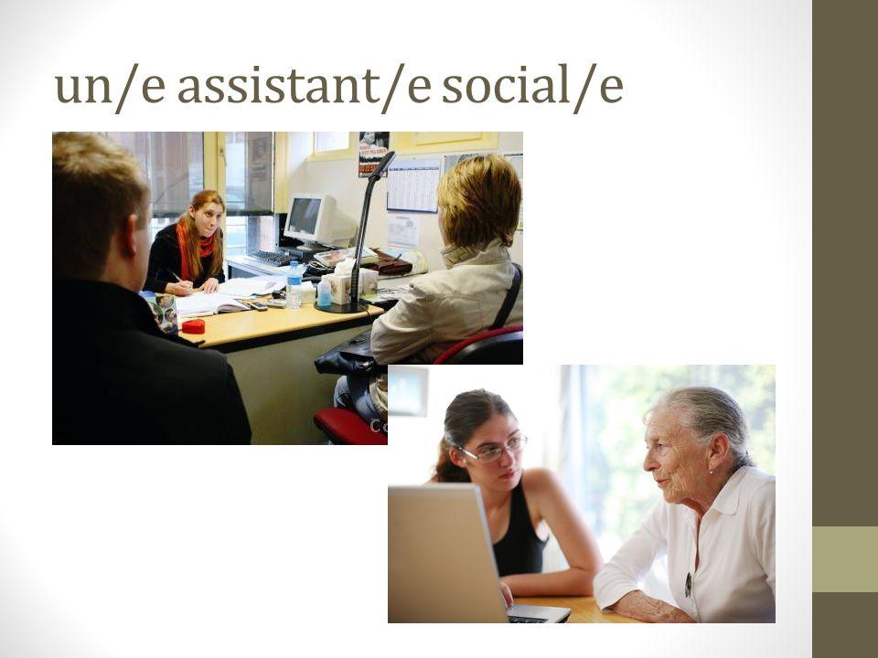 un/e assistant/e social/e