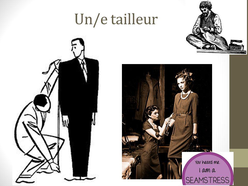 Un/e tailleur