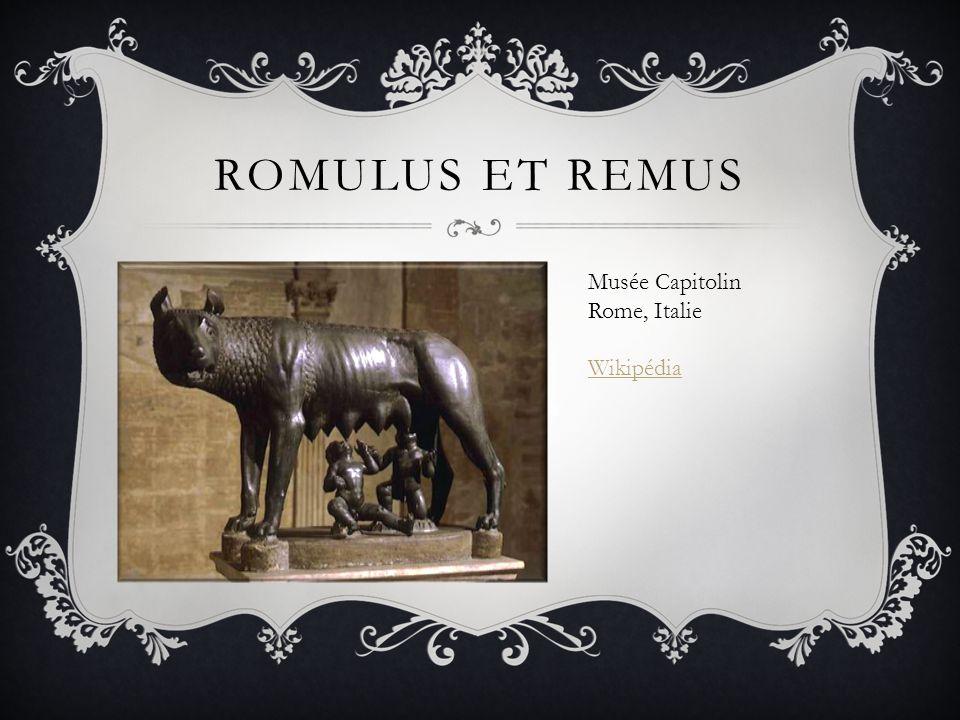 ROMULUS ET REMUS Musée Capitolin Rome, Italie Wikipédia
