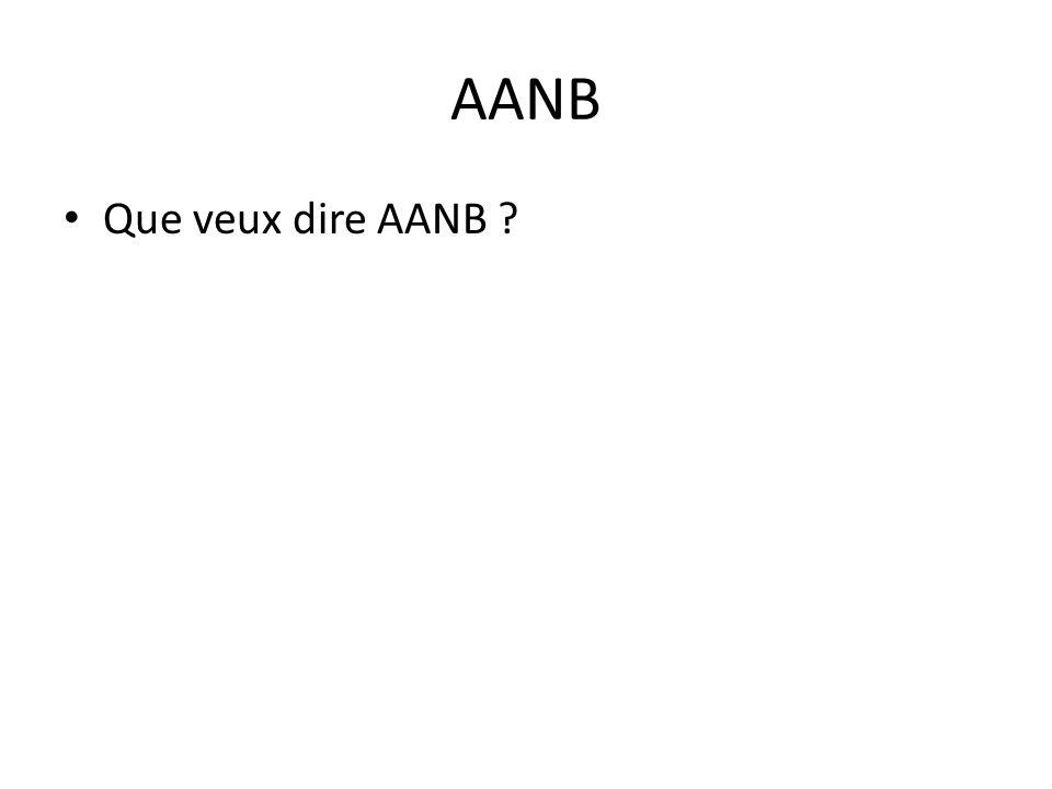AANB • Que veux dire AANB ?