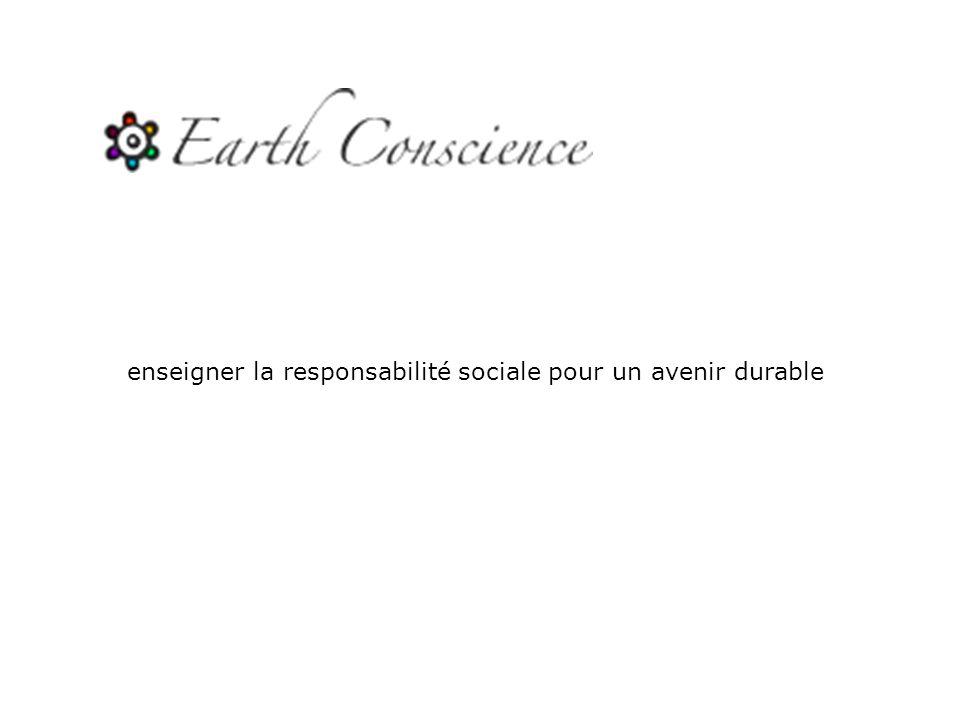 enseigner la responsabilité sociale pour un avenir durable