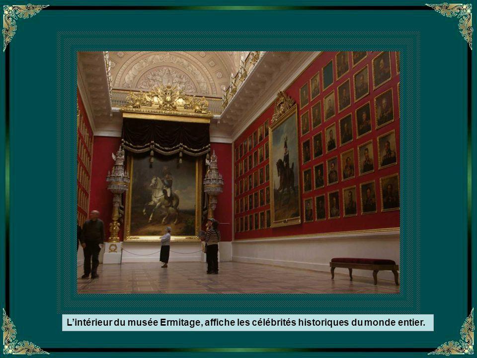 La galerie de Raphael du musée Ermitage - Reproductions des fresques du Vatican -