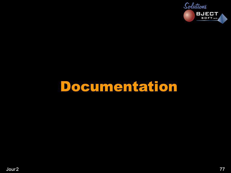 Jour 277 Documentation