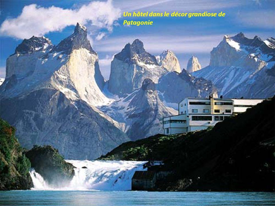 Les chutes Zompolatas en Patagonie