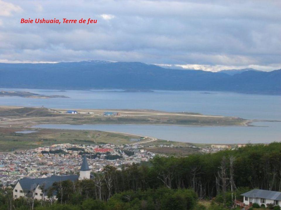 La ville de Ushuaia, capitale de la province Tierra del Fuego