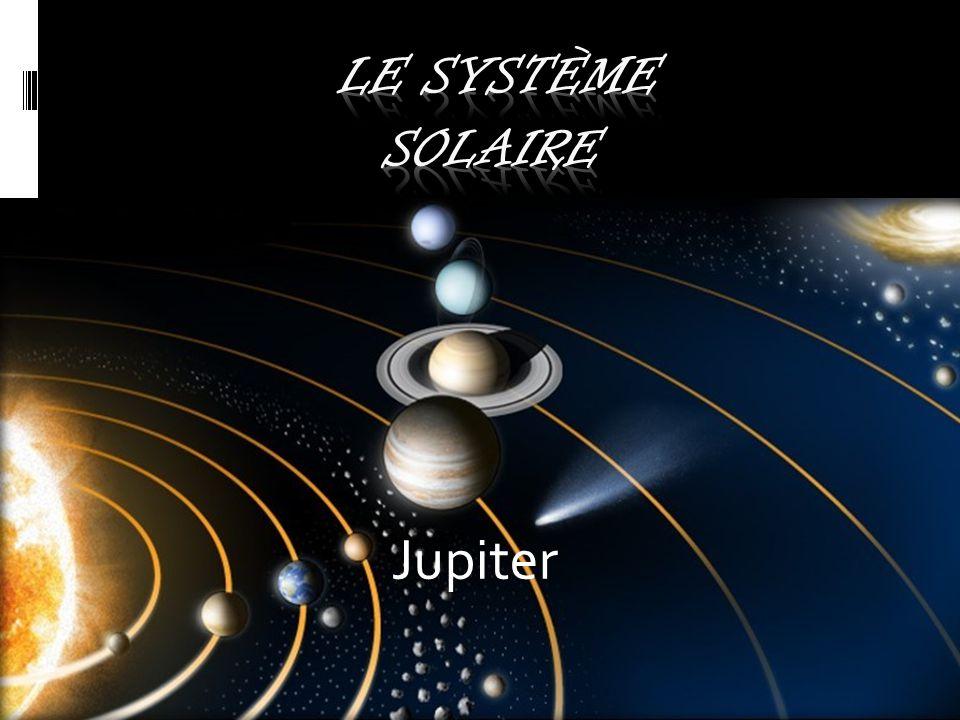 Jupiter Jupiter est une planète géante et gazeuse. Il s'agit de la plus grosse planète du système solaire, plus volumineuse et massive que toutes les