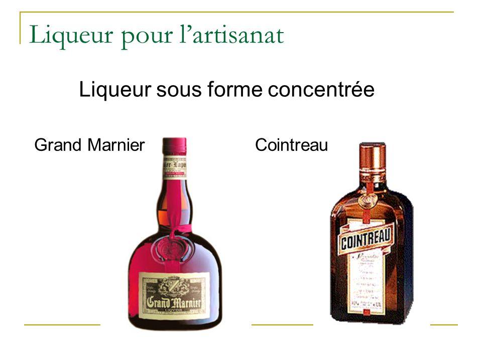Liqueur pour l'artisanat Grand Marnier Cointreau Liqueur sous forme concentrée