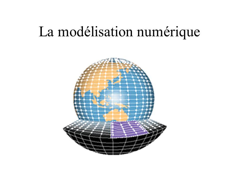 La modélisation numérique