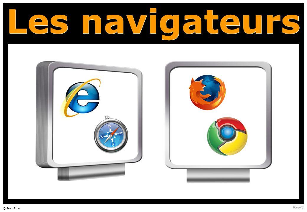 Page 3 © Jean Elias Les navigateurs