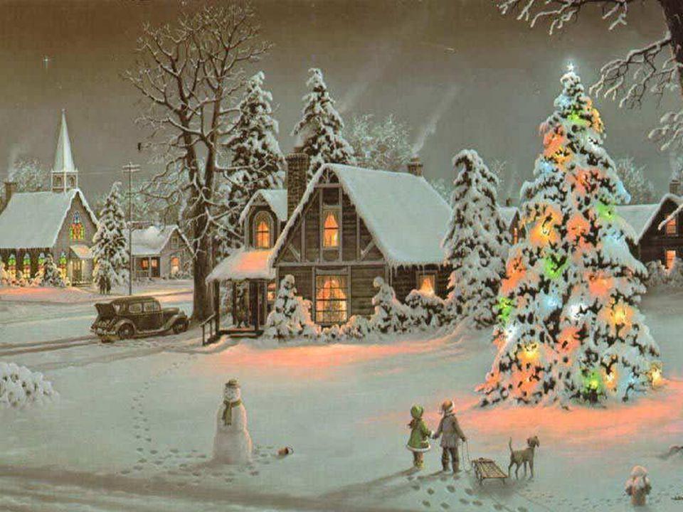 J'adore les lumières multicolores, la neige quand il y en a, et la musique de circonstance.