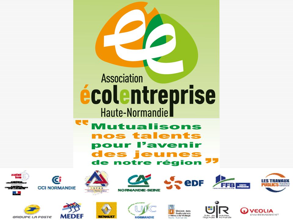 15 mars 2012Association Ecole Entreprise HN. 1