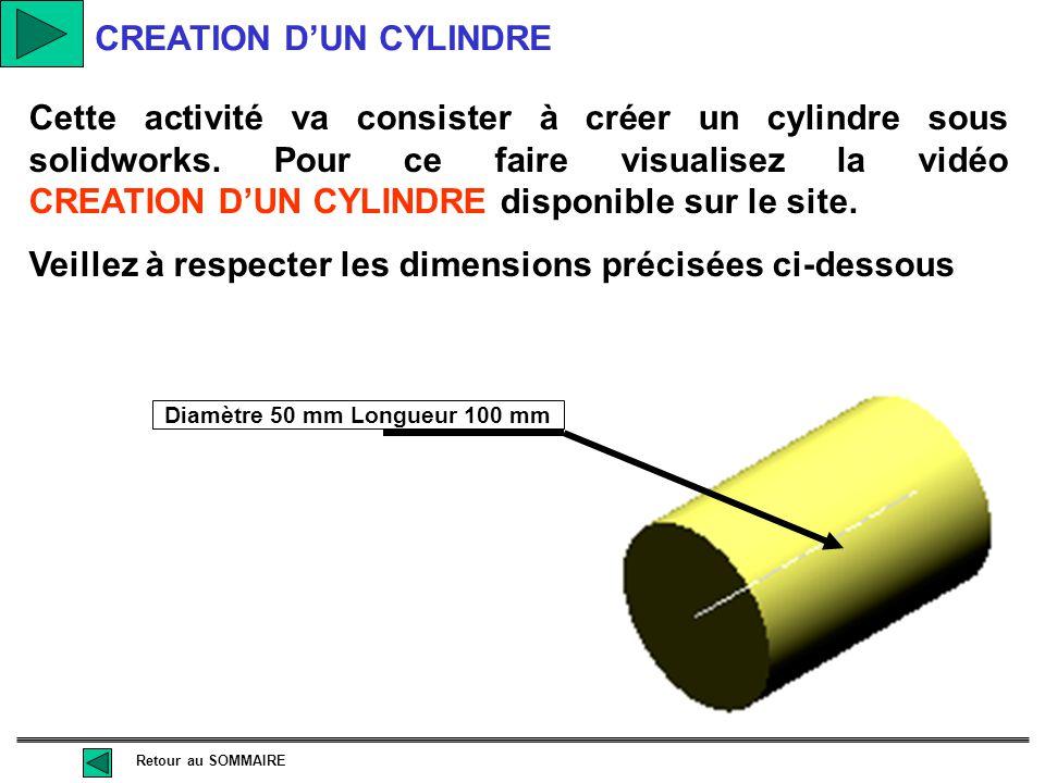 Mes activités au cours de la séquence pratique d'apprentissage CREATION D'UN PARALLELEPIPEDE CREATION D'UN TRONC DE CONE Diapositive précédente CREATI