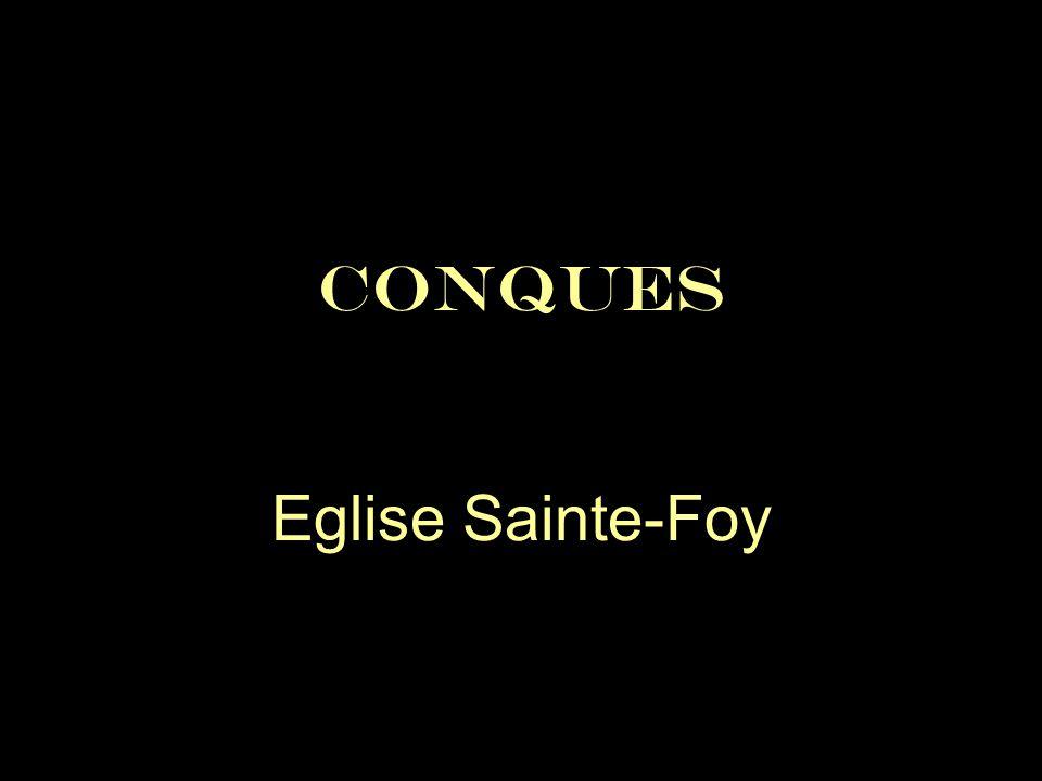 CONQUES Eglise Sainte-Foy